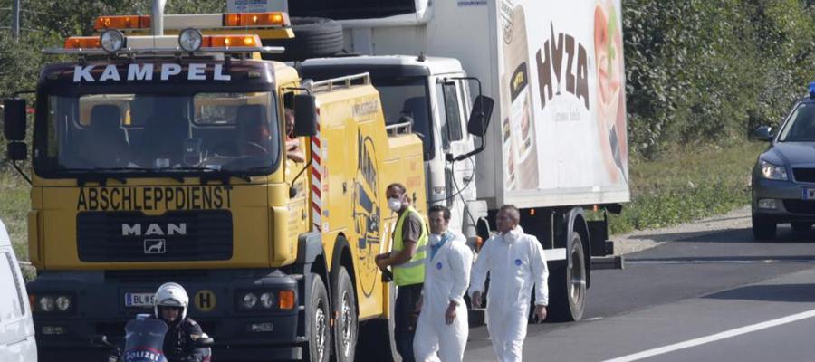 camion des Balkans