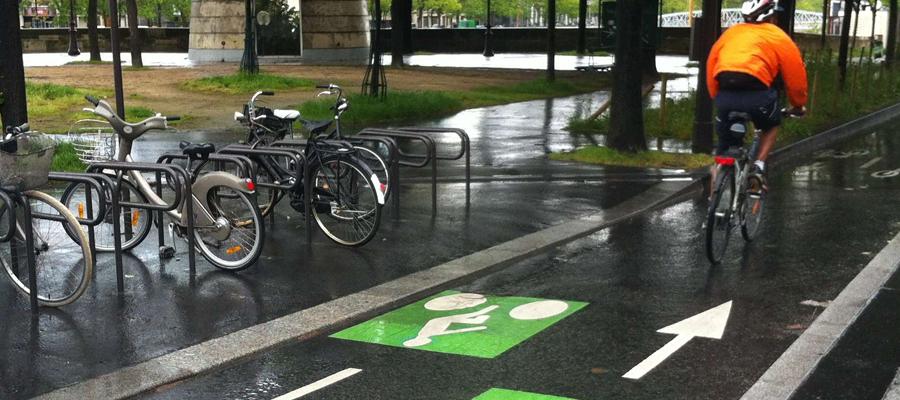 Un déménagement écolo à vélo