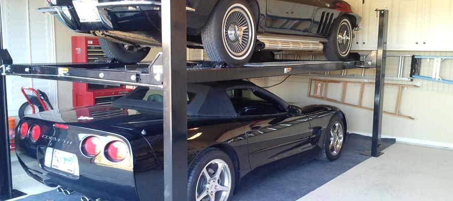 lifting automobile