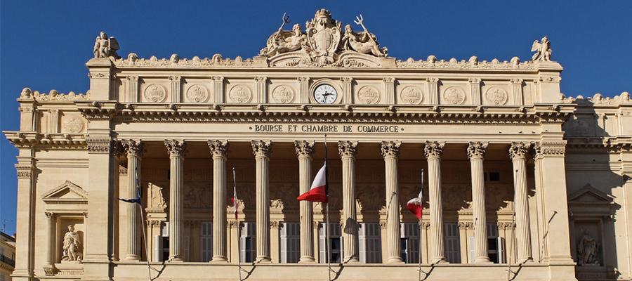 Batiment de la CCI de Marseille