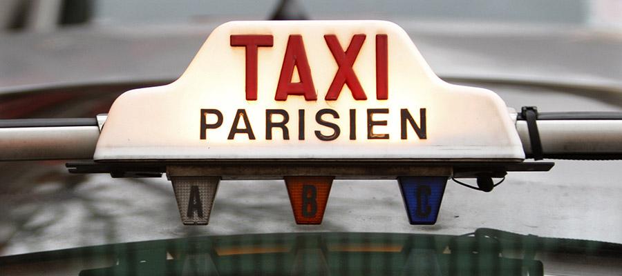 chaffeur de taxi a Paris